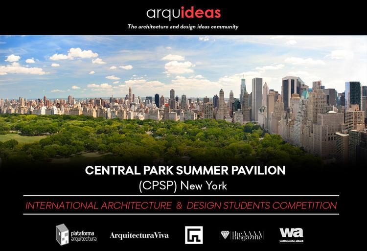Convocatoria internacional Central Park Summer Pavilion (CPSP) New York