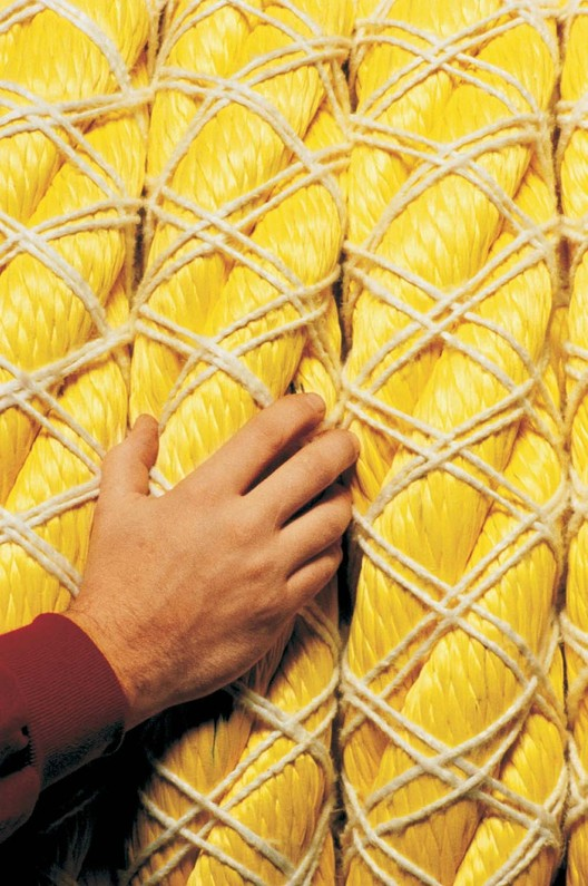 Ropes made with Kevlar. Image via DuPont.com