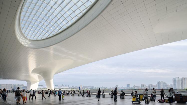 Estación de Trenes de Hangzhou East / CSADI, © Zheng Shi