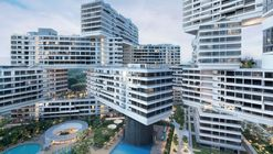 "Complejo habitacional de OMA y Ole Scheeren es nombrado ""World Building of the Year 2015"""