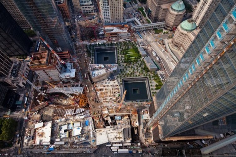 Leaking Water Becomes Latest Setback for the World Trade Center Hub, © Joe Woolhead