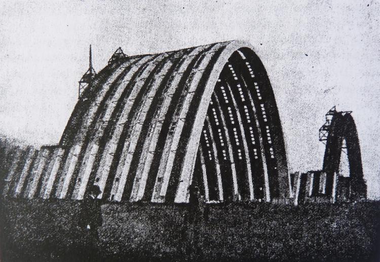 . Eugène Freyssinet, hangares en el aeropuerto de Orly. Image vía 'Hacia una arquitectura'