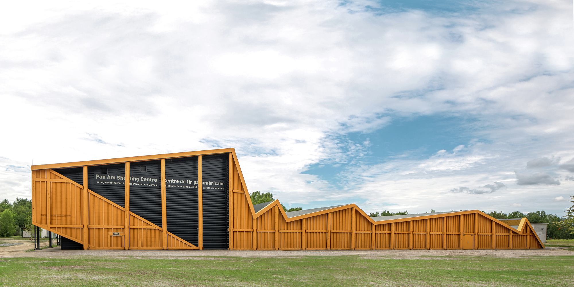 Gallery Of Shooting Range In Ontario Magma Architecture 1