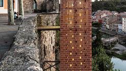 Novo Acesso ao Centro Histórico de Gironella  / Carles Enrich