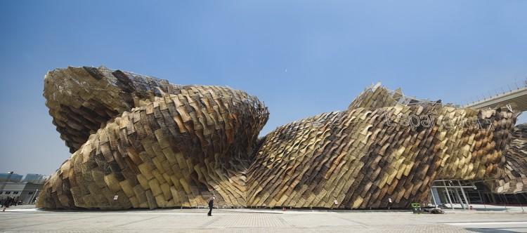 Spanish Pavilion at the Shanghai Expo 2010. Image © Shen Zhonghai KDE