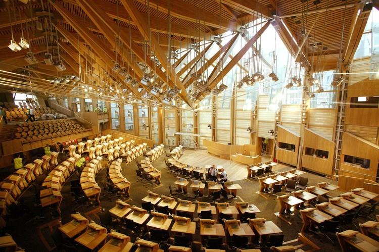 Scottish Parliament Building, Edinburgh. Image © Scottish Parliament Corporate