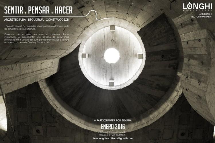 SENTIR . PENSAR . HACER | Workshop, Foto: Luis Longhi