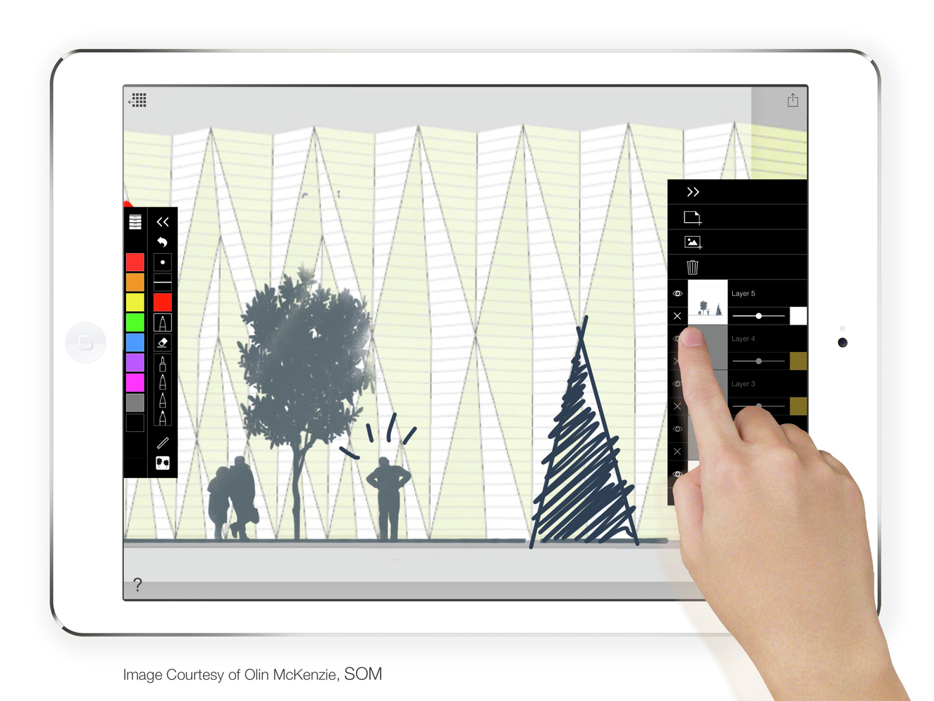 Gallery of ad app guide morpholio releases tracepro for - Application architecture ipad ...