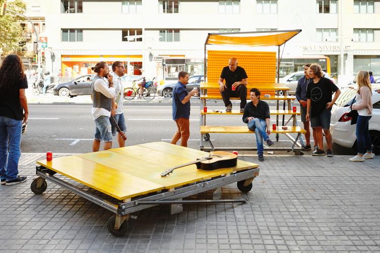 Pit Box. Image © Aitor Estévez