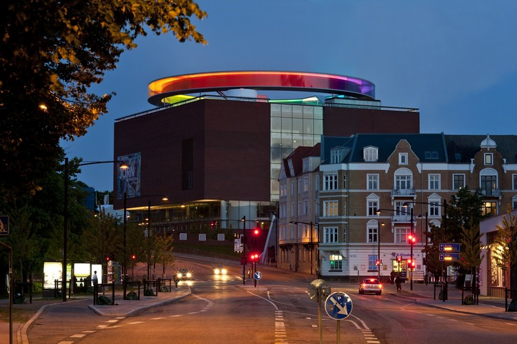 schmidt hammer lassen to Expand ARoS Aarhus Art Museum , Your Rainbow Panorama / Studio Olafur Eliasson. Image Courtesy of Studio Olafur Eliasson