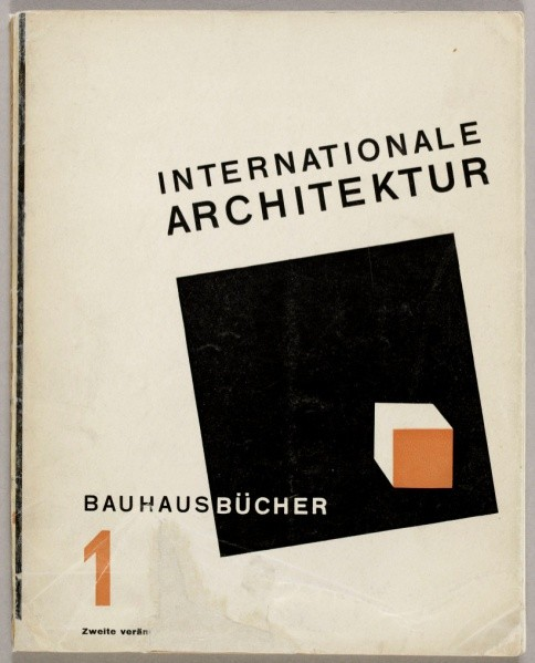 """Internationale Architektur"" / Walter Gropius (ed.). Imagem via Monoskop"