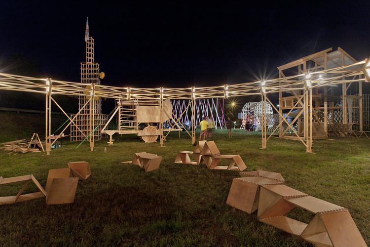 Performance Agora. Image © Tamás Bujnovszky