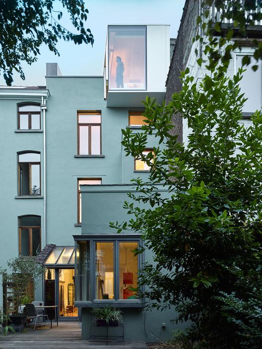 Terraced-House Renovation / Edouard Brunet + François Martens, © Dennis De Smet