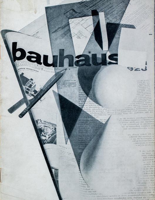 """""""bauhaus: zeitschrift für bau und gestaltung 2:1"""". Image vía Monoskop"""