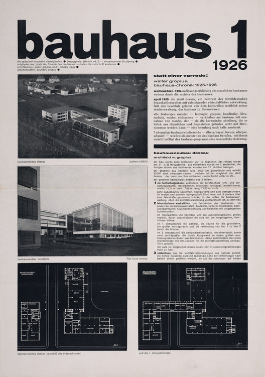 """Bauhaus 1"". Image vía Monoskop"