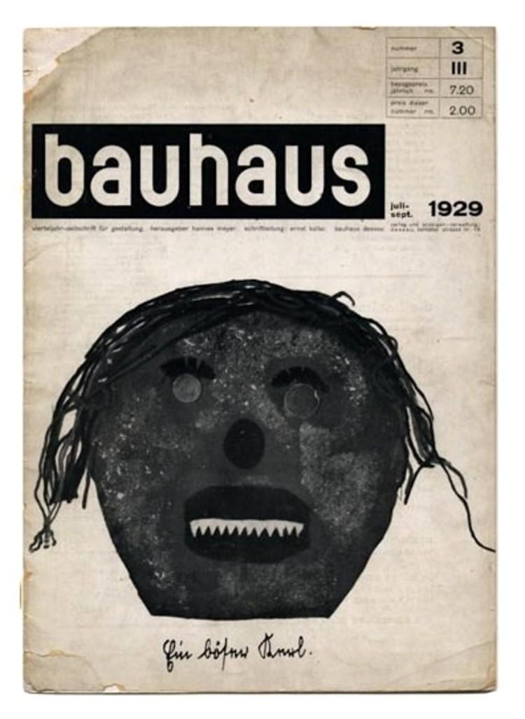 bauhaus: zeitschrift für gestaltung 3:3. Image vía Monoskop
