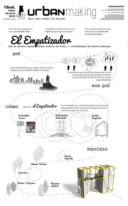El Empatizador. Image Cortesía de Taller Vertical #UrbanMaking