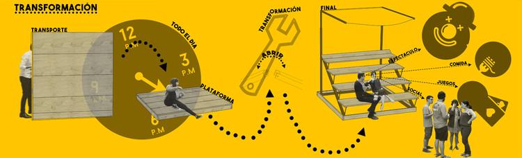 Pit Box. Image Cortesía de Taller Vertical #UrbanMaking