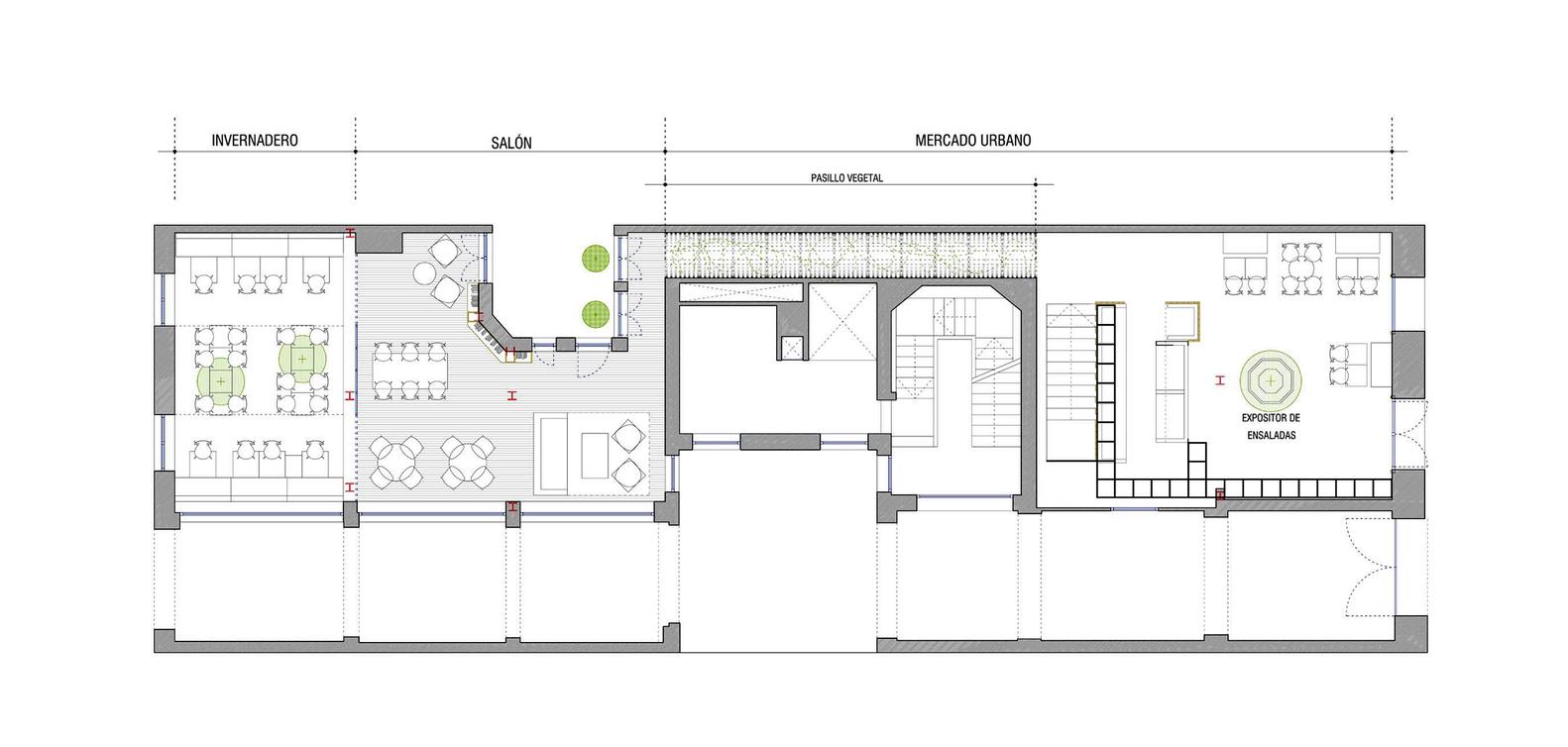gallery of gust restaurant zooco estudio 10 gust restaurant floor plan