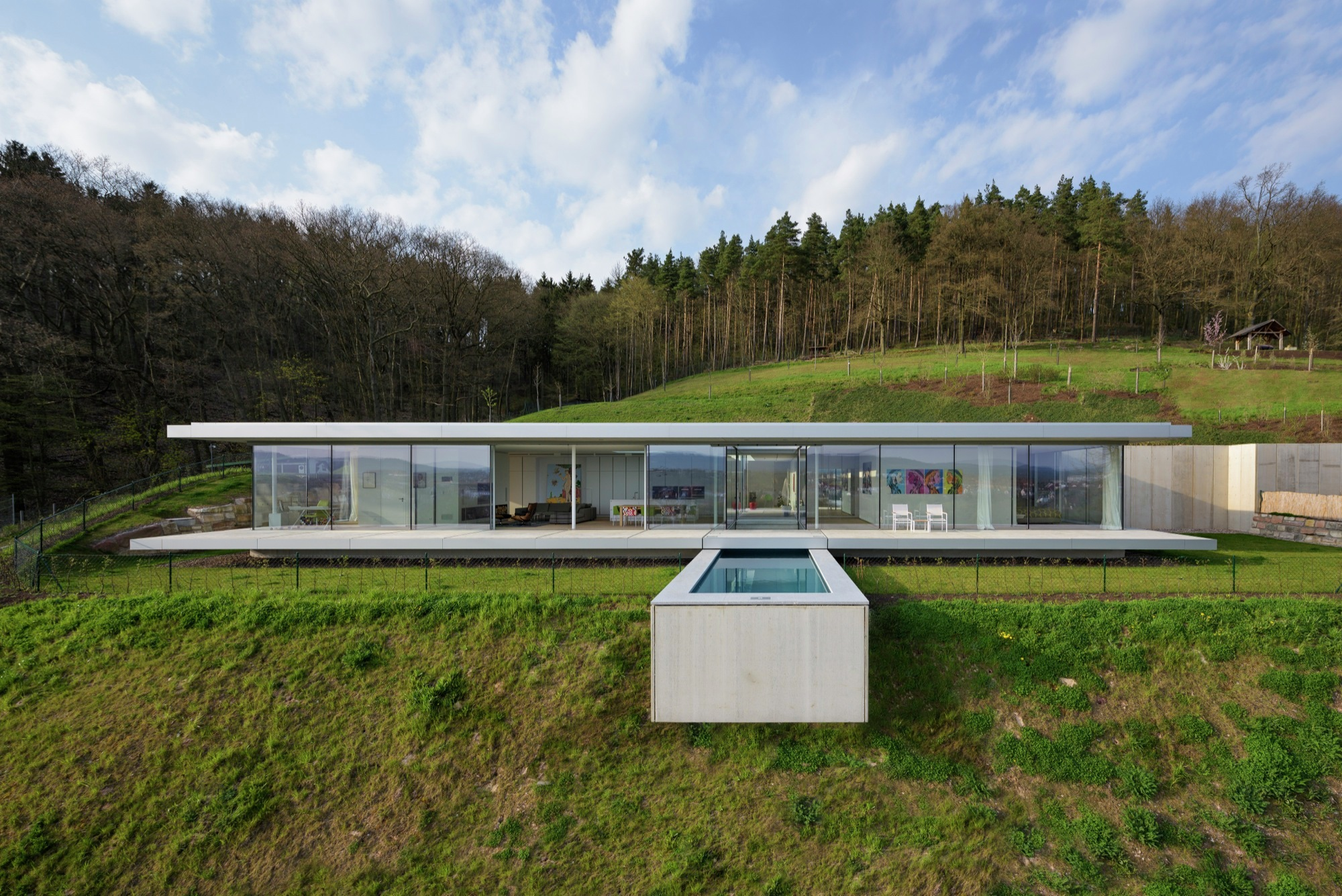 Villa k paul de ruiter architects archdaily for Minimalist underground house
