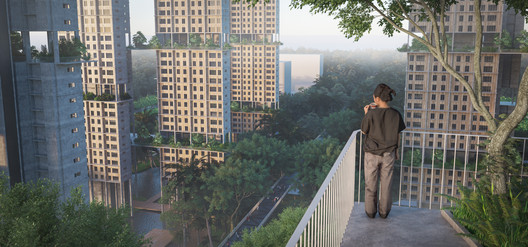 The Rail Corridor is transformed into a Linear Forest, adding onto its value as a heritage line that connects from the South to the North of Singapore.. Image Courtesy of Norm Li for MKPL/Turenscape Team