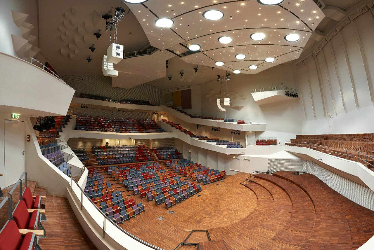 Great Amber Concert Hall,© Merks Ltd