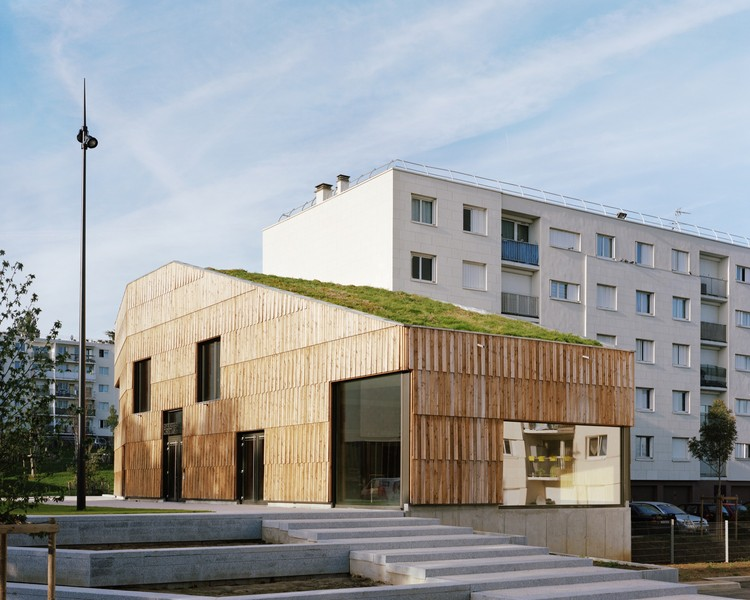 Centro Comunitario Christian Marin / Guillaume Ramillien Architecture, © Pascal Amoyel