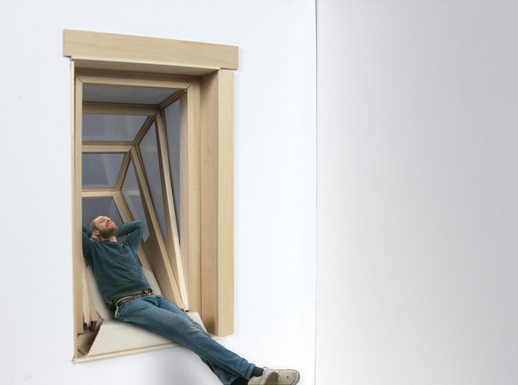 ¿No ves el cielo desde tu habitación? Con estas ventanas plegables sí podrás, © Aldana Ferrer Garcia