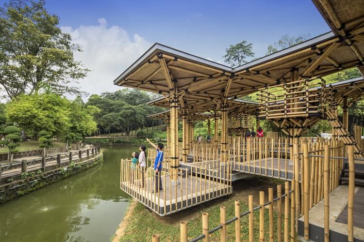 The Bamboo Playhouse Eleena Jamil Architect ArchDaily