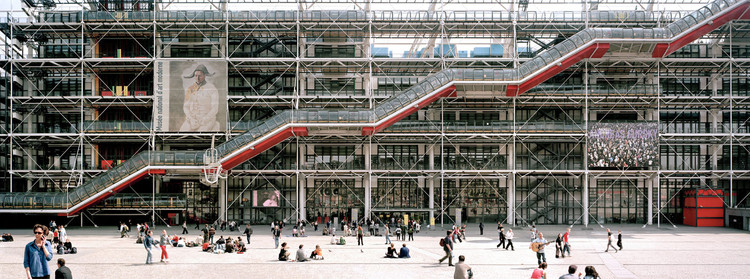 Five New Partners Appointed in Rogers Stirk Harbour as Mike Davies Steps Down, Pompidou Centre, Paris / Richard Rogers and Renzo Piano. Image via incollect