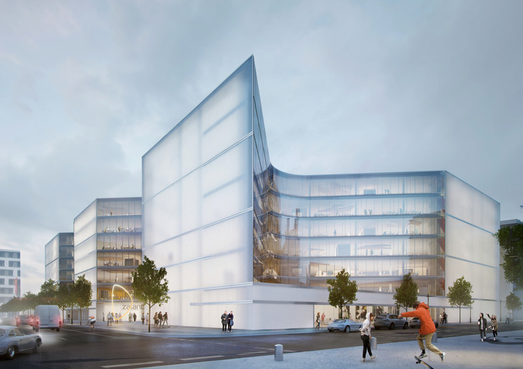 HENN Architects Wins Competition to Design New Zalando Headquarters in Berlin, Courtesy of HENN Architects