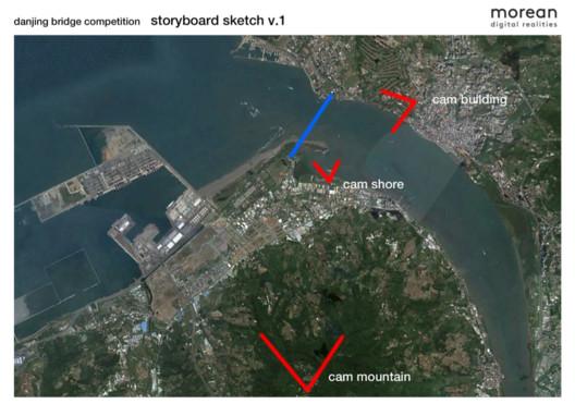 Storyboard Camera Positions. Image Courtesy of Morean Digital Realities