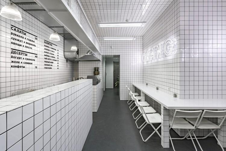 Bar vegetariano Orang+Utan / AKZ Architectura + Yulia Savlepova, Cortesía de AKZ Architectura, Yulia Savlepova