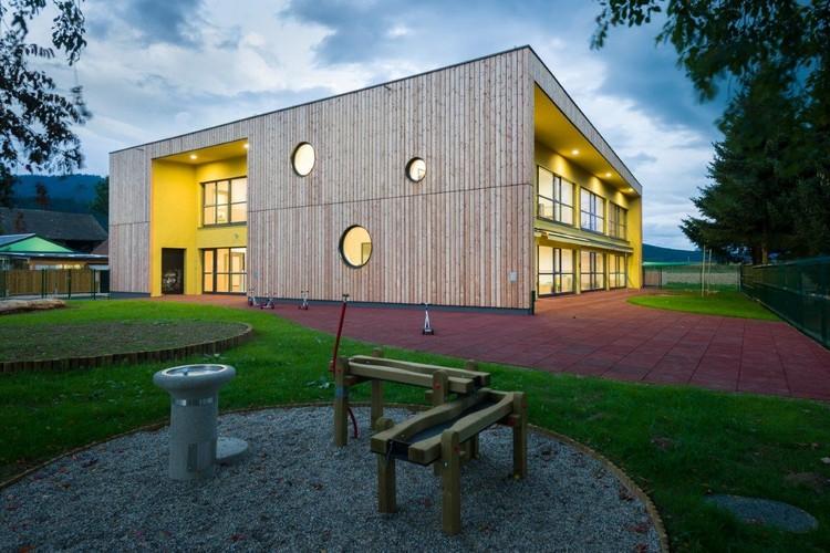 Šmartno Timeshare Kindergarten / Arhitektura Jure Kotnik, © Janez Marolt Photography