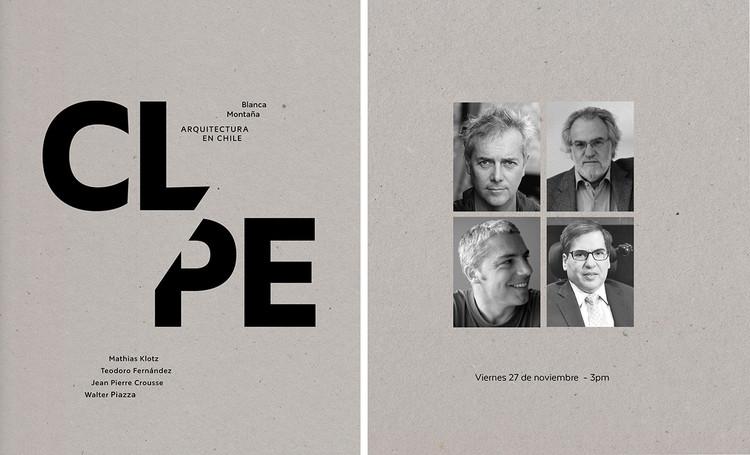 """Presentación en Perú del libro """"Blanca Montaña. Arquitectura Reciente en Chile"""" , Cortesía de Ediciones Puro Chile"""