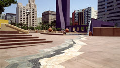 Clásicos de Arquitectura: Pershing Square / Ricardo Legorreta + Laurie Olin