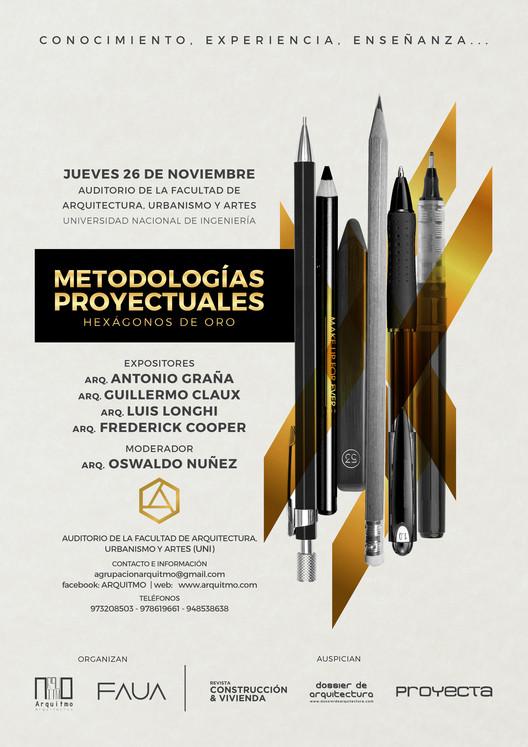 CONFERENCIA: METODOLOGÍAS PROYECTUALES- HEXÁGONOS DE ORO, Arquitmo