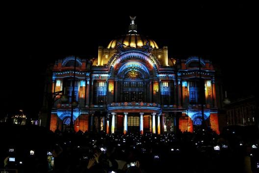 Palacio de Bellas Artes, Ciudad de México. Image vía info7.mx