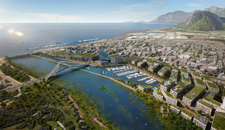 Perkins+Will Unveil Master Plan for Antalya, Turkey, Courtesy of Perkins+Will