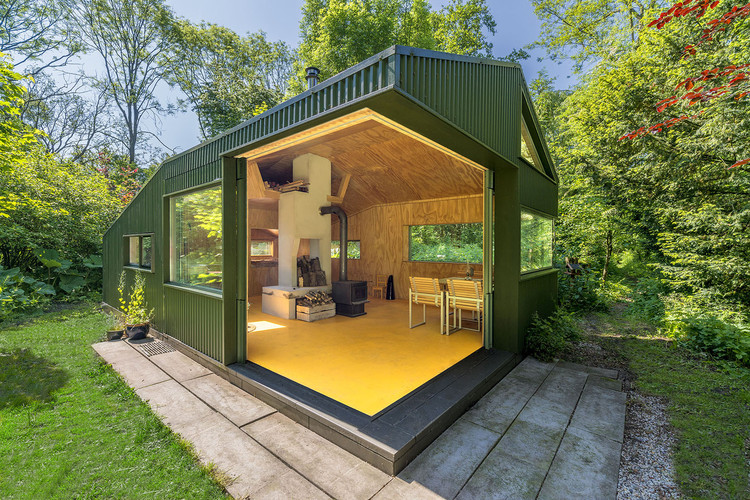 Cabaña de Thoreau / cc-studio, © John Lewis Marshall