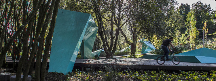 Ribeiro do Matadouro Park / Oh!Land studio, © Victor Esteves