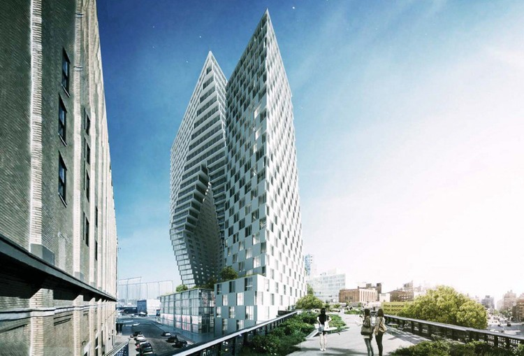 BIG High Line Project Unveiled , © BIG, via New York Yimby