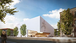 Libeskind Unveils Design for New Lithuanian Modern Art Center