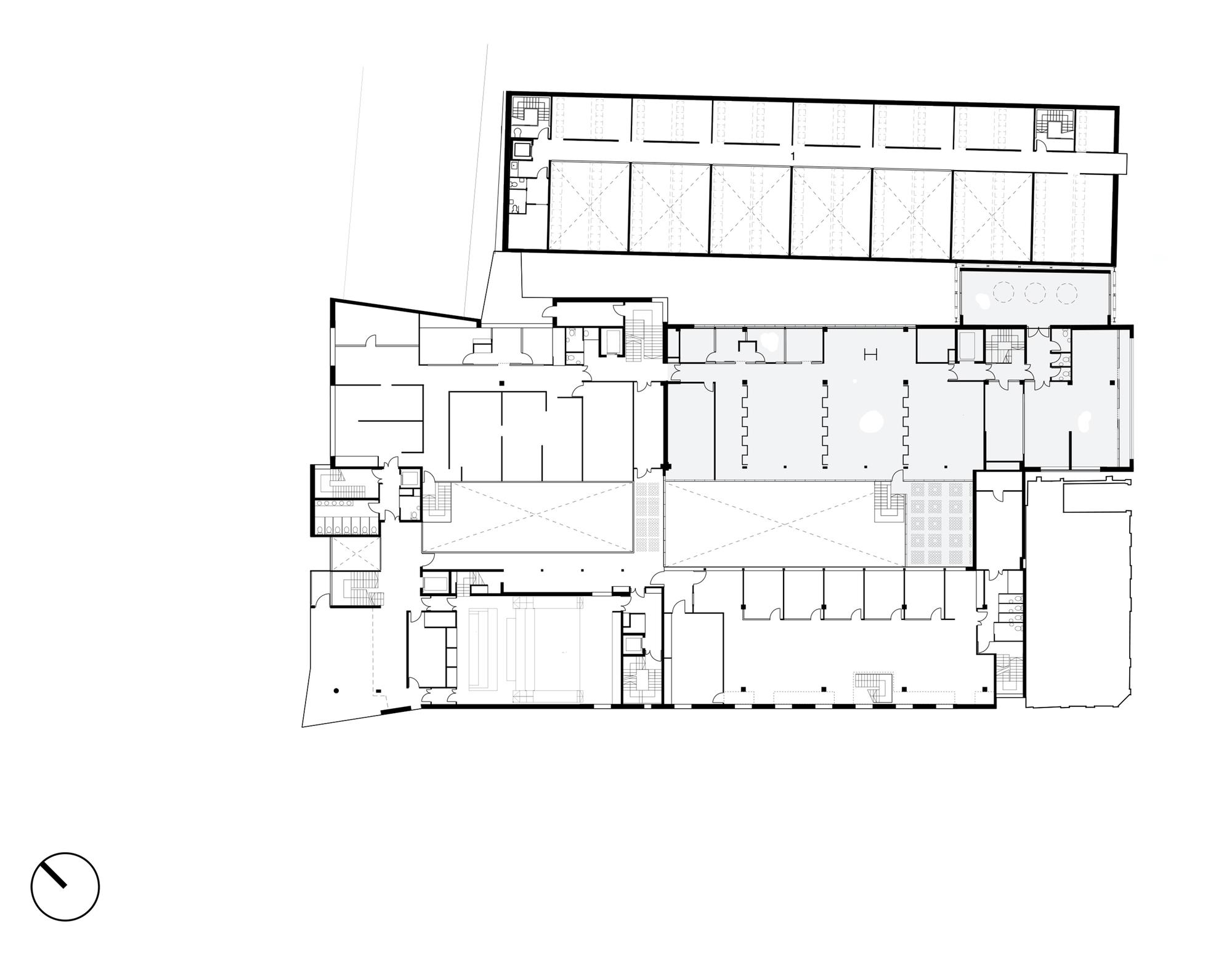 Factory Building Floor Plan