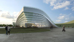 Emblema Águila - Centro Ciudadano de Otog / KUAN Architects