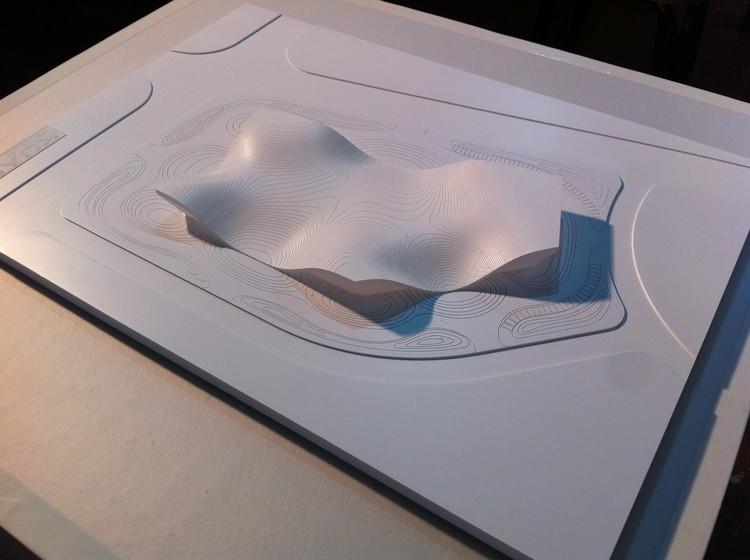 Modelo. Cortesía de  KUAN Architects