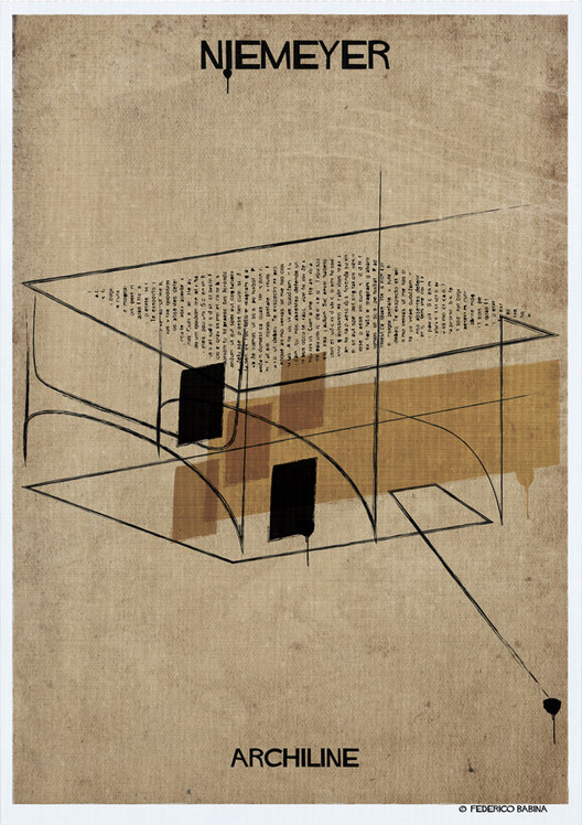 Federico Babina's ARCHILINE Paints the Essence of Architecture's Greatest Works, © Federico Babina