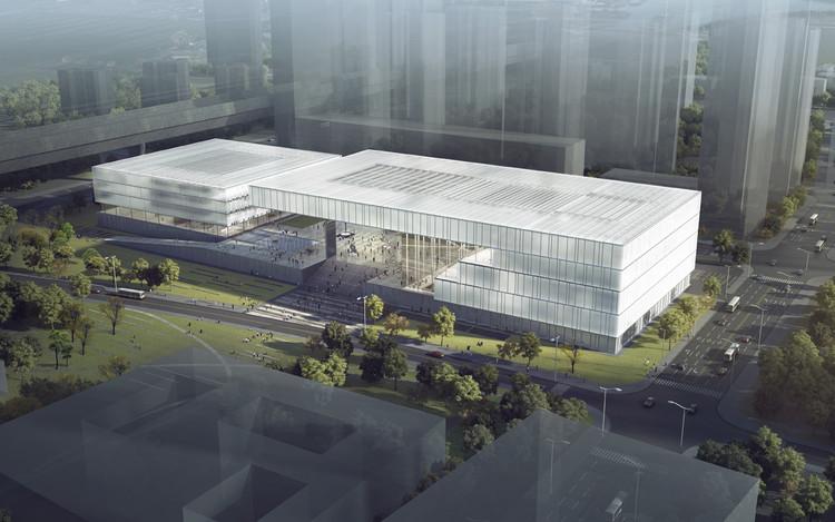 KSP Jürgen Engel Wins Competition for New Shenzhen Art Museum and Library, © KSP Jürgen Engel Architekten