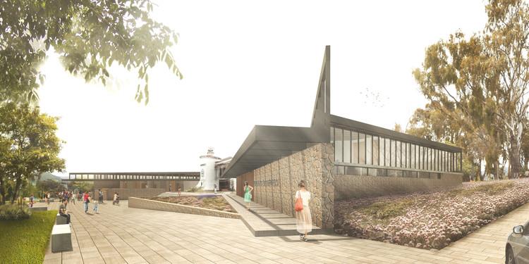 MasFernandez Arquitectos, tercer lugar en concurso Edificio Consistorial de Papudo, Cortesía de MasFernandez Arquitectos