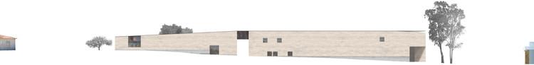 Elevación/Alzado Sur. Image Cortesía de Matías Zegers Arquitectos